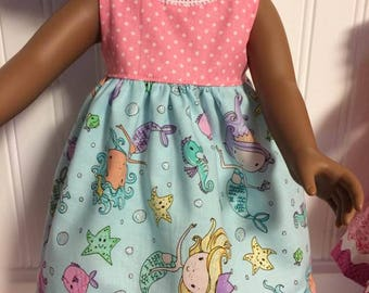 Dress for 18 inch doll like American Girl, Journey Girl, Waldorf and other