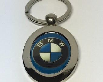 BMW metal keychain