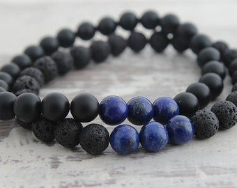Thin Blue Line Bracelet Thin Blue Line Jewelry Think Blue Line Police Officer Gifts Police Gifts Law Enforcement Gifts