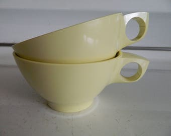 Boontonware yellow cup pair