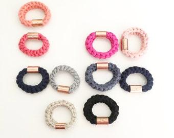 Bracelets, Bracelets with copper, Soft colorful bracelet