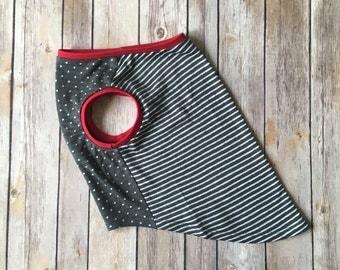 Pug Bugg Puggle French Bulldog Sleeveless Shirt Tank Top In Stripes & Dots