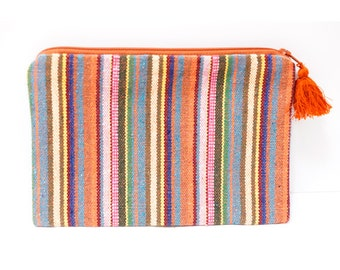 Ethnic pouch (0022) Hippie pouch Tribal pouch Pouch Ethnic Hippie Tribal Small pouch