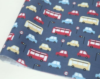 Laminated Cotton Fabric Bus By The Yard