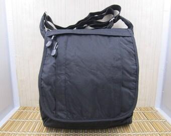 Derek Alexander Black Messenger Bag