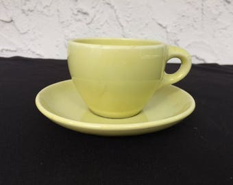 Russel Wright Coffee Cup & Saucer