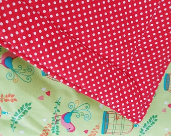 Blanket dotted fabric 52 x 52 cm