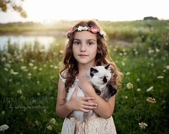 Floral halo, Floral crown, Flower crown, Wedding crown, Wedding halo, Maternity halo, Handmade crown, Photography prop