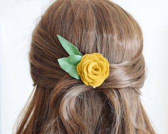 Flower Clips & Combs