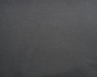Fabric - cotton jersey fabric -  Charcoal