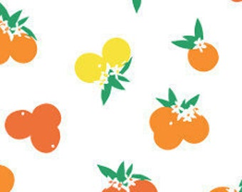 Fabric - Art gallery - jersey fabric - Fiesta fun citrus sunrise - cotton jersey