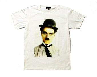 Pixel Chaplin t-shirt