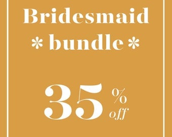 Mini Caftan Bridesmaid Bundle
