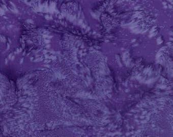 Hoffman Fabrics Watercolors Violet 1895-81-Violet Bali Batik Fabric