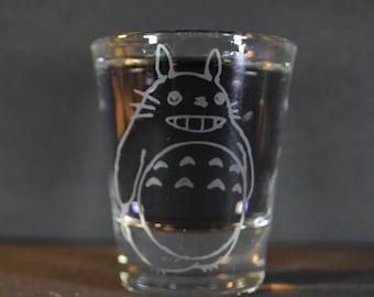 Totoro shot glass