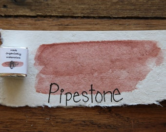 Pipetone, Half-Pan, Handmade Watercolor, Travel Artist