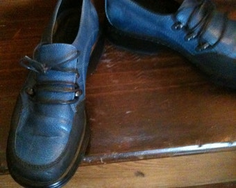 SALE. Funky Blue Dansko Shoes
