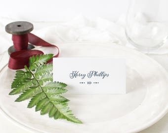 Korey - Place Cards (PRINT-IT-YOURSELF)
