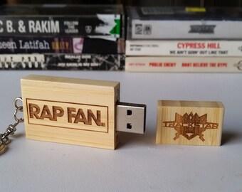 RAPFAN USB w/ Trackstar the DJ mixtapes