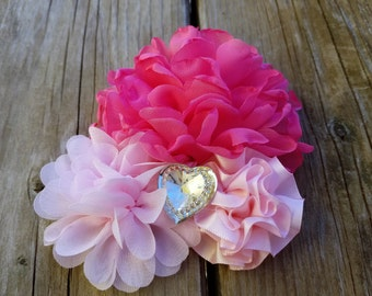 Hair Accessory, Girls Accessory, Baby Headband, Flower Headband, Spring Flower, Valentines Day, Baby Headband, Flower Hair Clip, Spring Clip