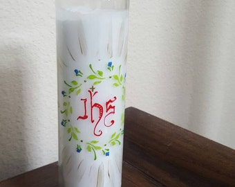 IHS Devotional Candle