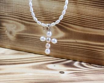 Vintage pearl necklace – Etsy