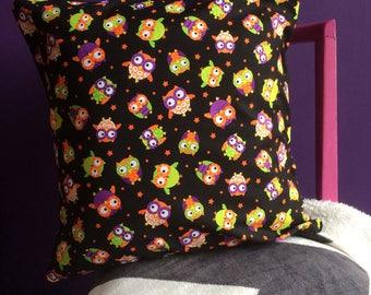 Halloween Owls Cushion Cover