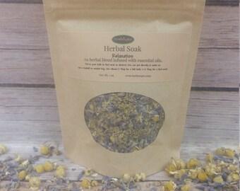 Relaxation Soak - Herbal Soak - Lavender Chamomile Soak - Natural Bath Products - Herbal Remedies - Dried Herbs - Tub Tea - Bath Tea