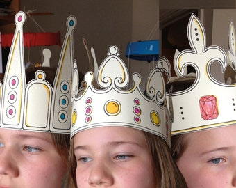 THREE CROWNS a home craft activity