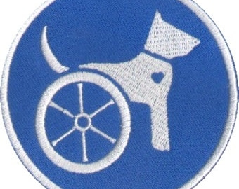 Handicapable Iron on Patch