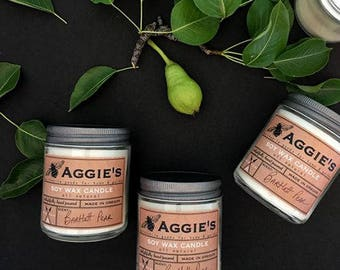 Aggie's - Petite Jar Candles - Hand Poured - Made In Oregon