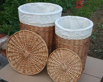 cane makes up wicker basket the laundry basket clothes basket handwoven laundry