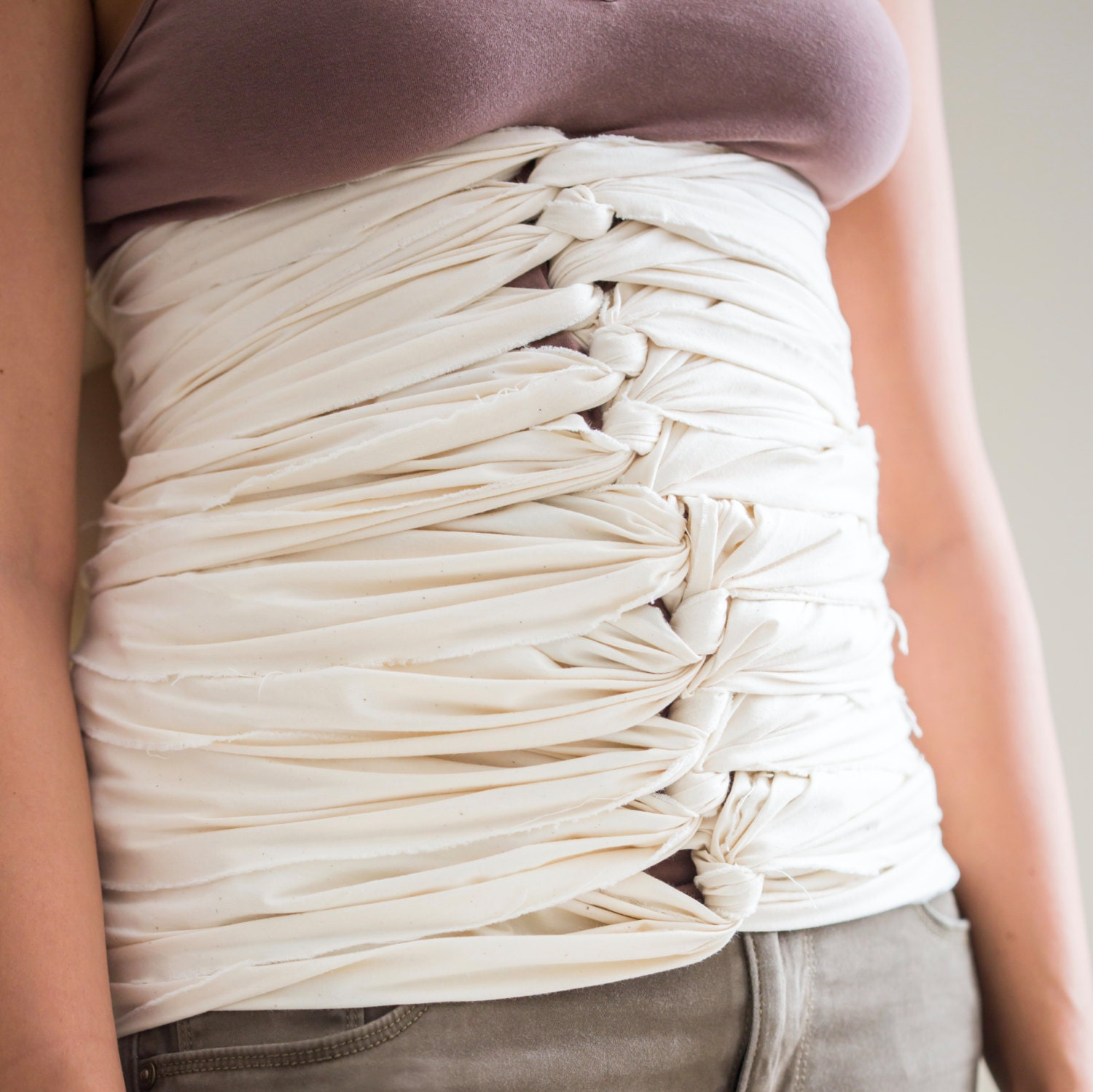Bengkung Belly Bind/ Postpartum Belly Wrap From