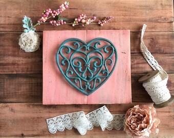 Rustic Heart Wall Decor