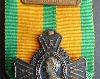 Netherlands WW2 Military War Cross With Bar