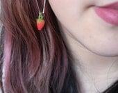 Strawberry Earrings (Miniatures)
