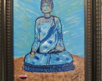 Acrylic Painting--Buddha
