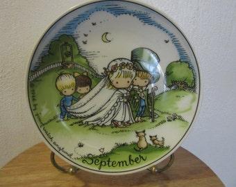 Joan Walsh Angland, Ebeling Reuss Company, September Wedding Joan Walsh Angland September Collectible Plate