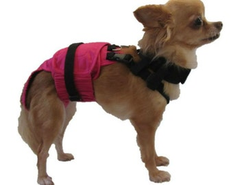 Dog Diaper Wrap X-SMALL 3.5 pounds to 6 pounds