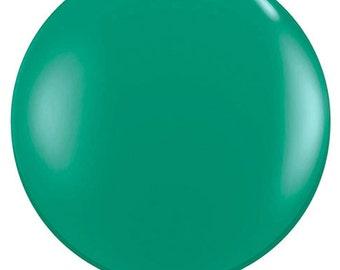 "36"" balloon- Jewel Emerald Green"