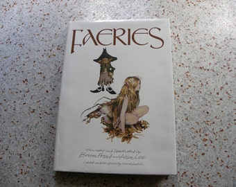 1978 Faeries Hardcover First Edition Book by Brian Froud and Alan Lee