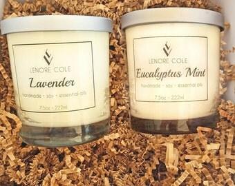 Luxury Candle Gift Set, Candle Gift Set, Candle Gift Basket