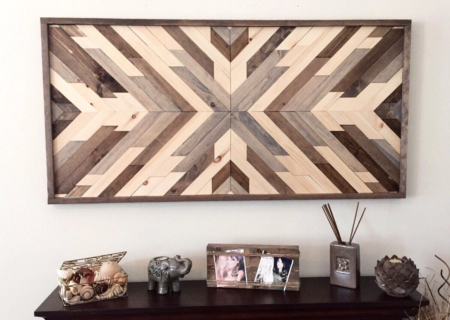 Rustic Wood Wall Decor reclaimed wood wall art wood art rustic wall decor