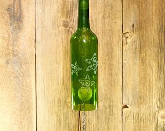 Windchime - Wine Bottle Windchime - Star Fish Design - WG29