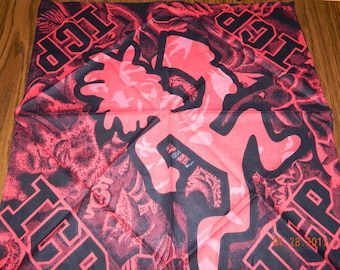 New- Offically Licened INSANE CLOWN POSSE multi-colored Hatchetman Bandanna