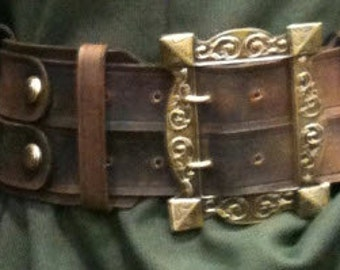 DOCTOR DOOM BELT:  Adult 1-1 scale, real leather custom made