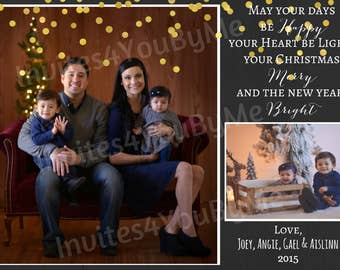 Christmas card, greeting card, seasons greetings
