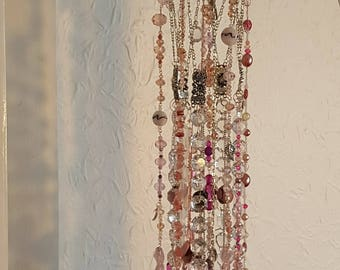 Penelope - Sun-Catcher - Chime, Elegant Crystal Wind Chime, Garden Decoration, Window Decoration