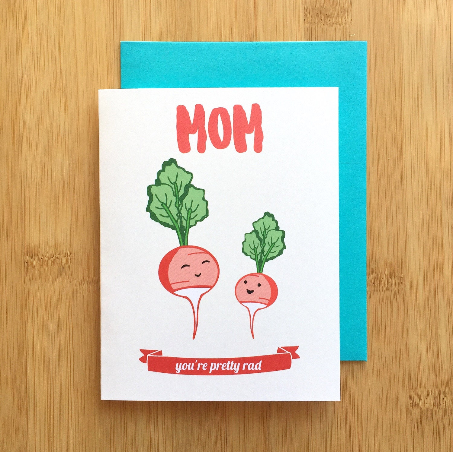 Mothers Day Card, Mom Birthday Card