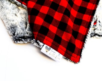 Ready to Ship- Lovey- Buffalo Plaid